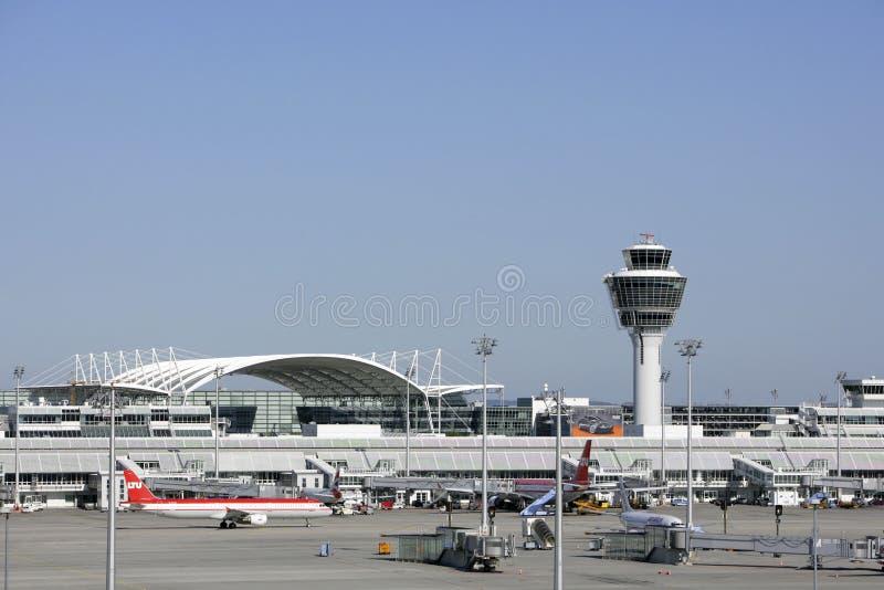 Aéroport de Munich photographie stock libre de droits