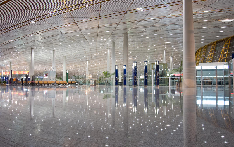 Aéroport de Pékin image stock