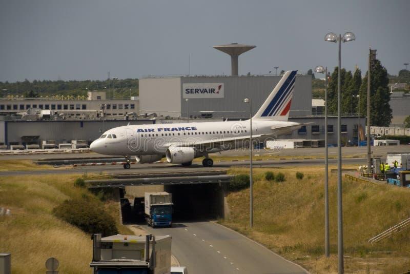 Aéroport de Paris photo libre de droits
