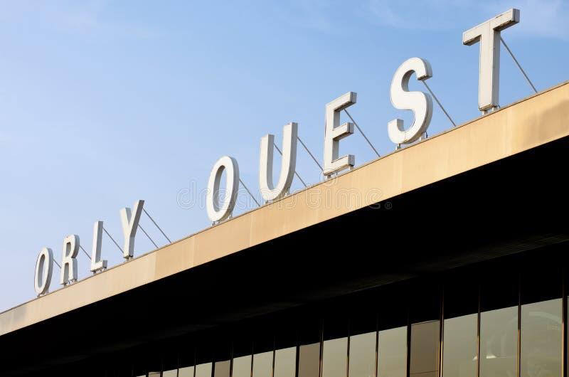 Aéroport de Paris, Orly images libres de droits