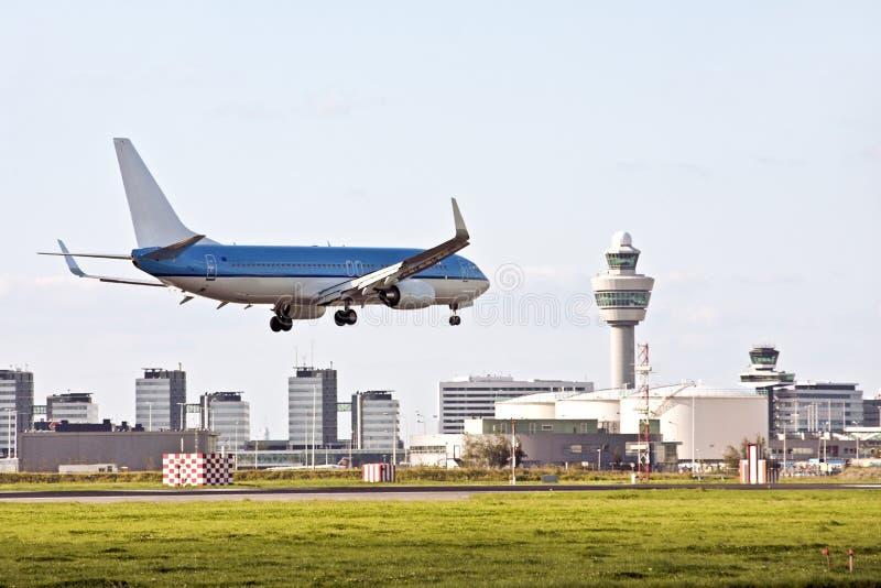 Aéroport de Schiphol en Hollandes photographie stock libre de droits