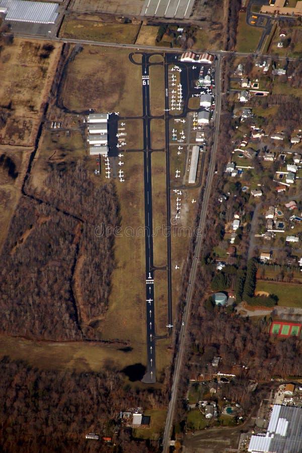 Aéroport de stationnement de Lincoln photos libres de droits