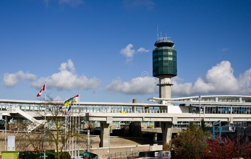 Aéroport de Vancouver photo stock