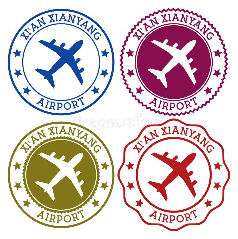 Aéroport de Xi'an Xianyang illustration libre de droits