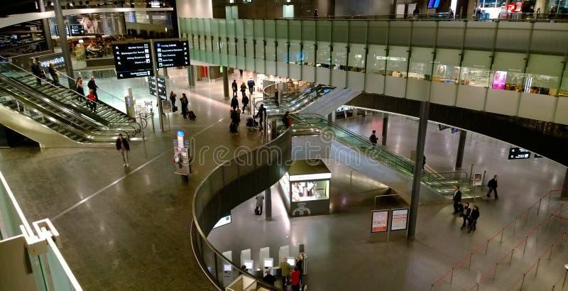 Aéroport de Zurich, Suisse photographie stock
