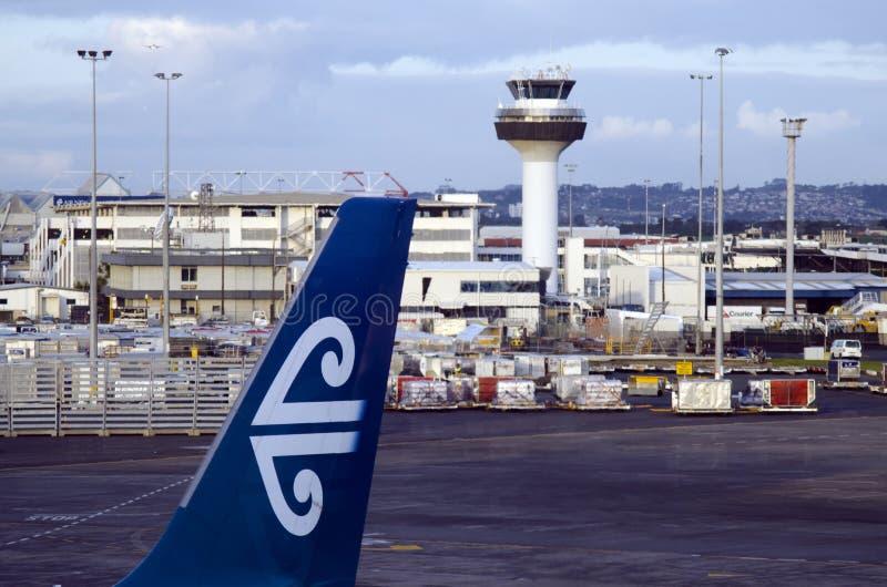 Aéroport international d'Auckland photo libre de droits