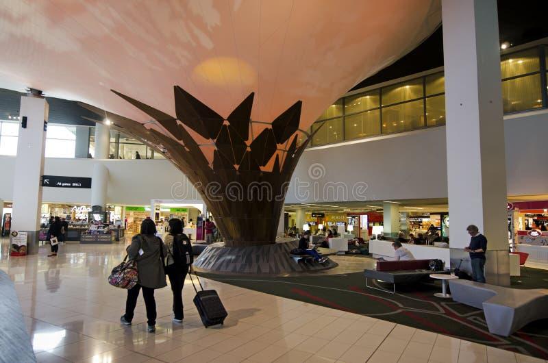 Aéroport international d'Auckland image libre de droits