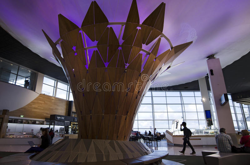 Aéroport international d'Auckland photographie stock