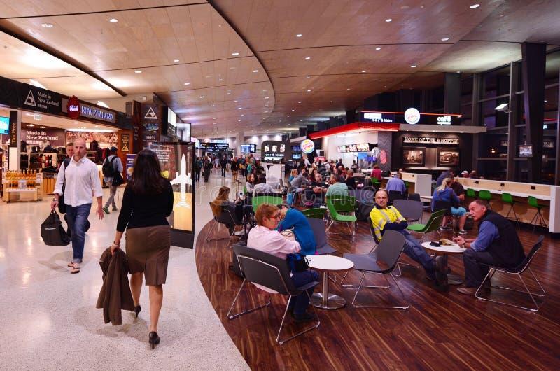 Aéroport international d'Auckland images libres de droits