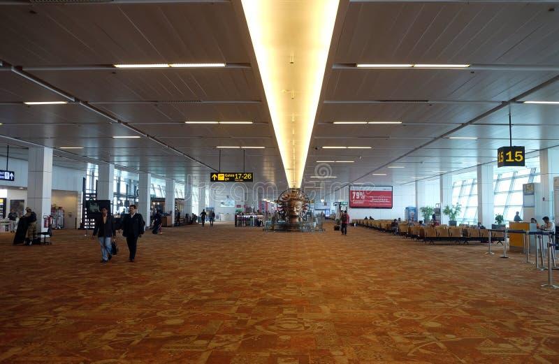 Aéroport international d'Indira Gandhi delhi photographie stock