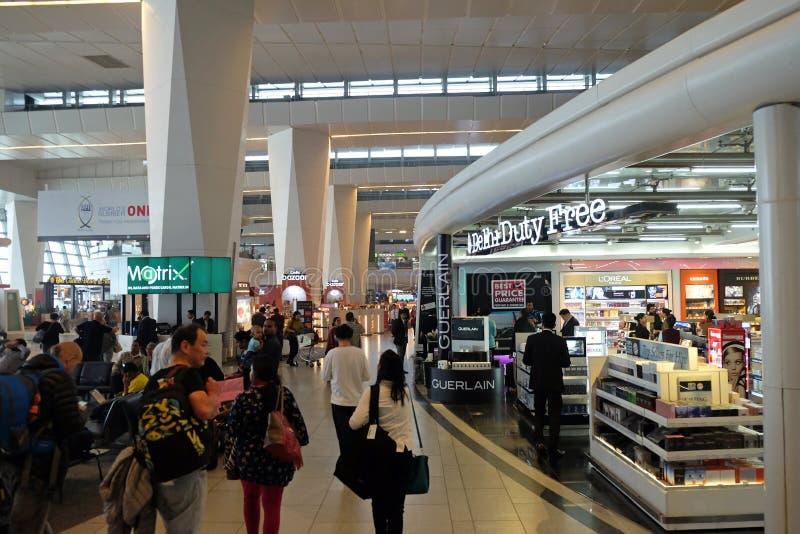 Aéroport international d'Indira Gandhi delhi photos stock