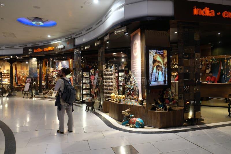 Aéroport international d'Indira Gandhi delhi photos libres de droits