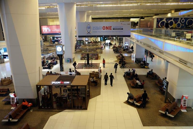 Aéroport international d'Indira Gandhi delhi photo libre de droits