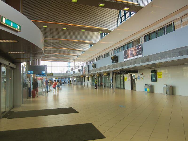 Aéroport international d'Otopeni, Bucarest, Roumanie photo stock