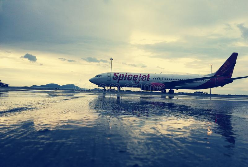 Aéroport international de Bangalore photo stock