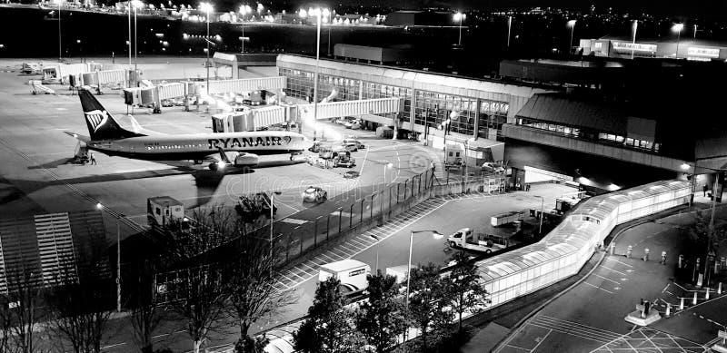Aéroport international de Birmingham image libre de droits