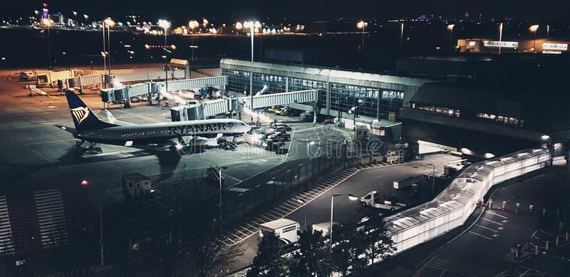 Aéroport international de Birmingham photo stock