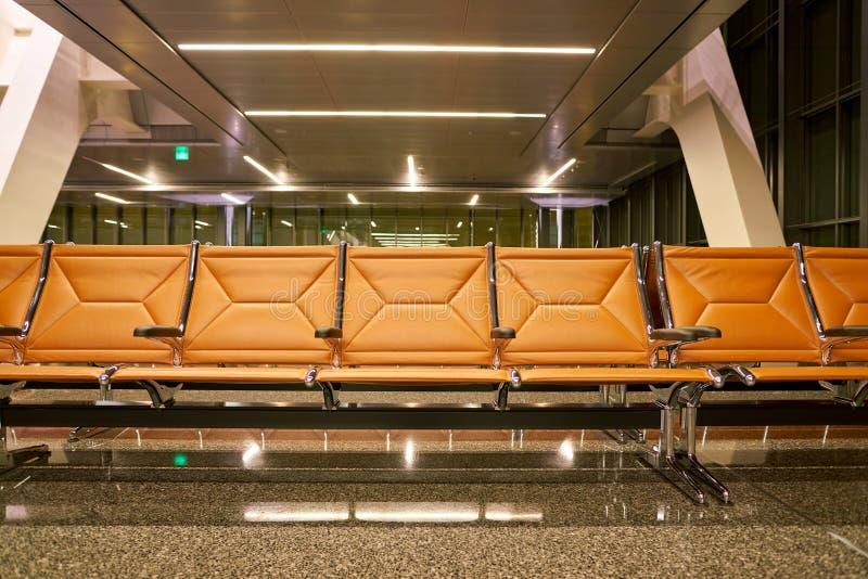 Aéroport international de Hamad image stock