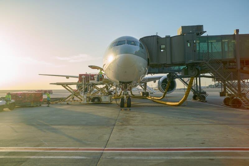Aéroport international de Hamad photos libres de droits