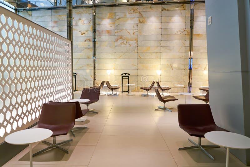 Aéroport international de Hamad images stock