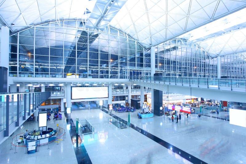 Aéroport international de Hong Kong images stock