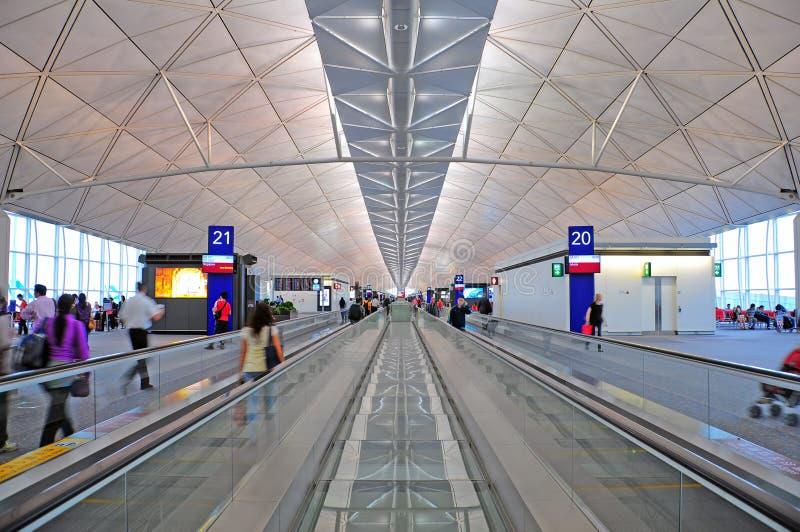 Aéroport international de Hong Kong images libres de droits