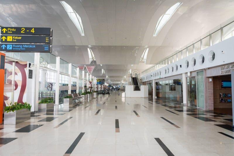 Aéroport international de Kualanamu dans Medan, Sumatra du Nord, Indonésie photographie stock libre de droits