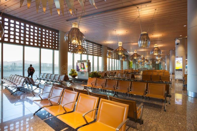 Aéroport international de Mumbai image stock