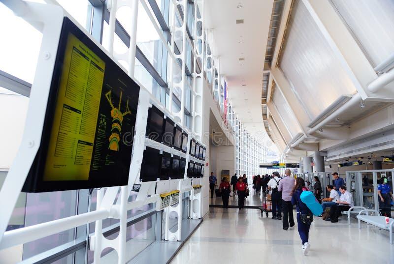 Aéroport international de Newark images stock
