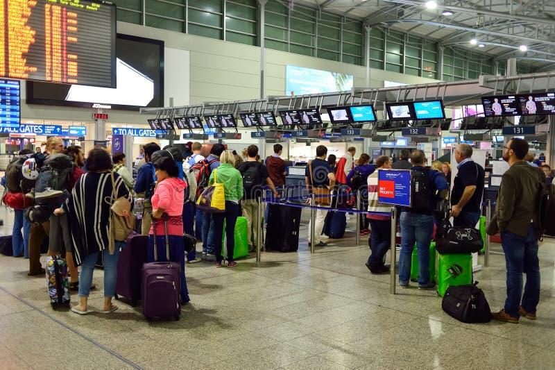 Aéroport international de Prague photographie stock libre de droits
