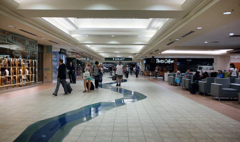 Aéroport international de Sacramento, la Californie photo stock