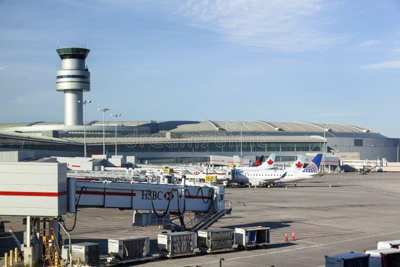 Aéroport international de Toronto Pearson photos libres de droits