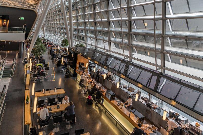 Aéroport international de Zurich photos libres de droits