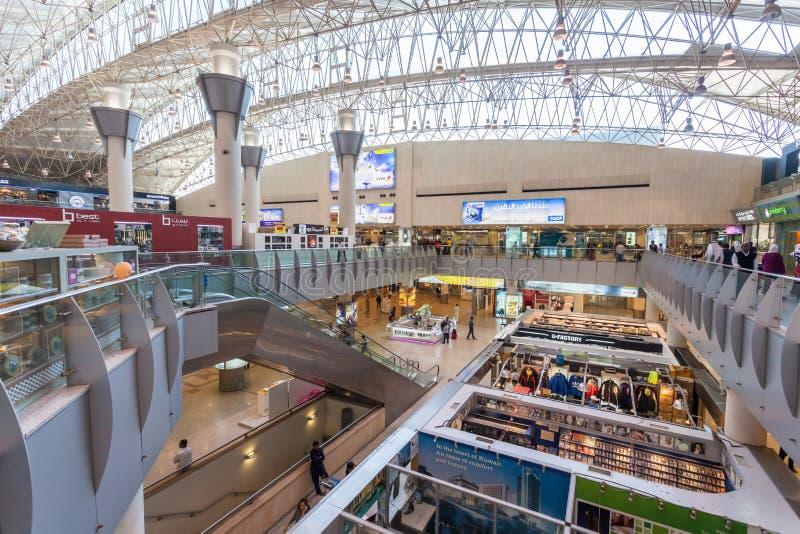 Aéroport international du Kowéit image libre de droits