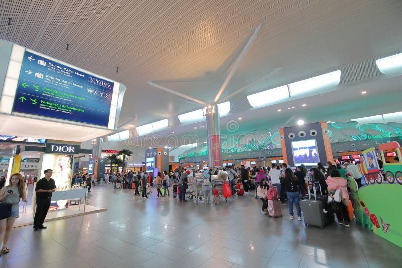 Aéroport Kuala Lumpur Malaysia de KLIA images libres de droits