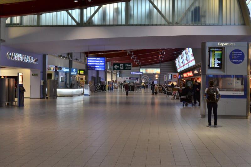Aéroport Londres de Luton image stock