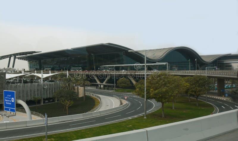 Aéroport, Qatar, international, Doha image stock