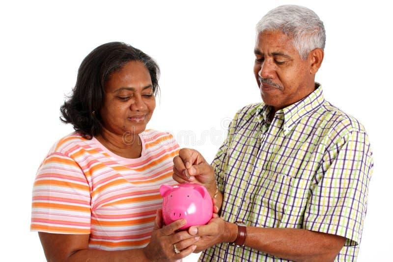 aîné de couples images libres de droits