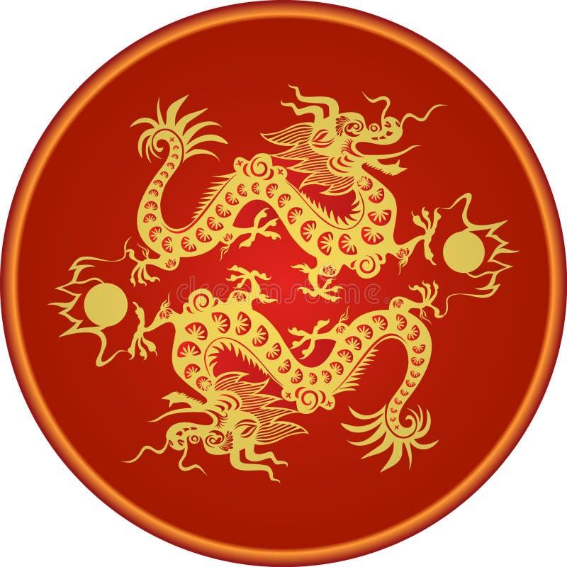 Año 2012 del dragón libre illustration