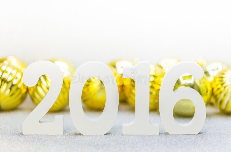Año 2016 foto de archivo libre de regalías