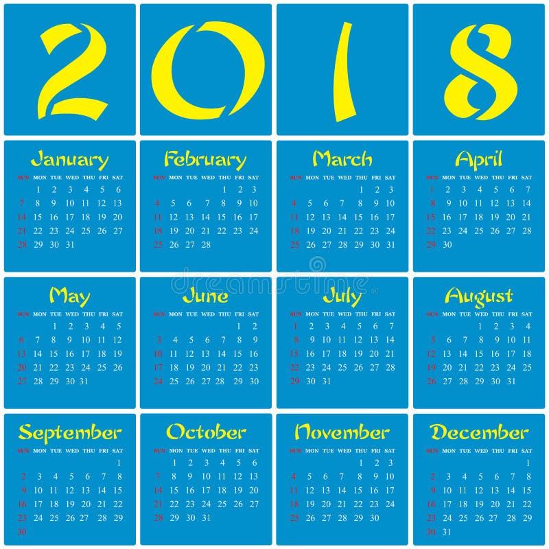 2018 - Año de un perro amarillo fotografía de archivo
