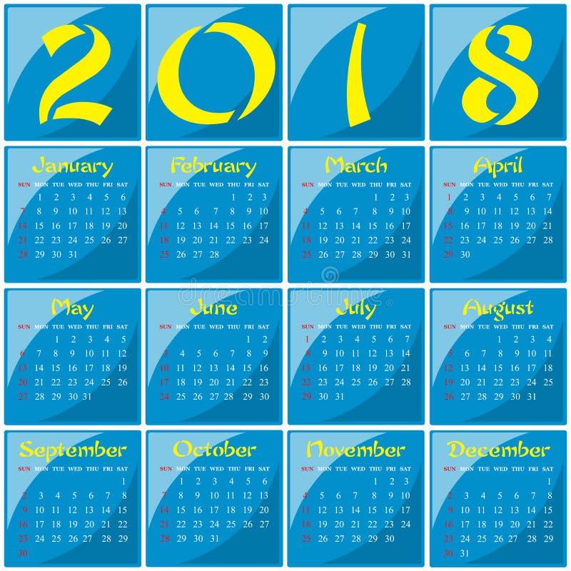 2018 - Año de un perro amarillo fotografía de archivo libre de regalías