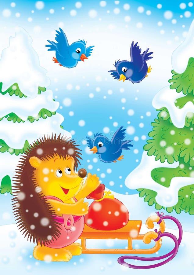 Año Nuevo 04 stock de ilustración
