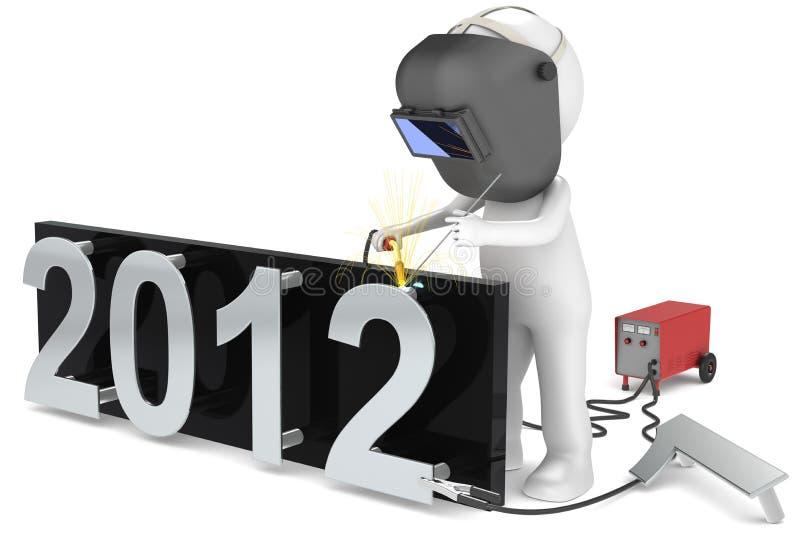 Año Nuevo stock de ilustración