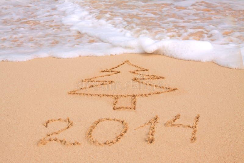 Año Nuevo 2014. imágenes de archivo libres de regalías
