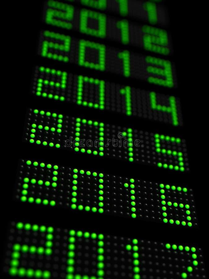Año Nuevo 2016 stock de ilustración