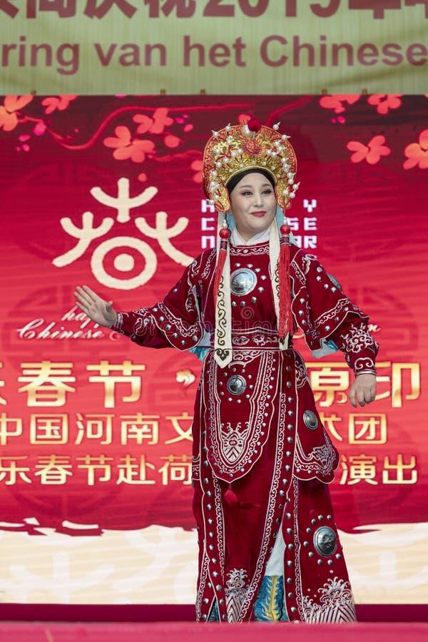 Año Nuevo chino 2019 - ópera fotos de archivo
