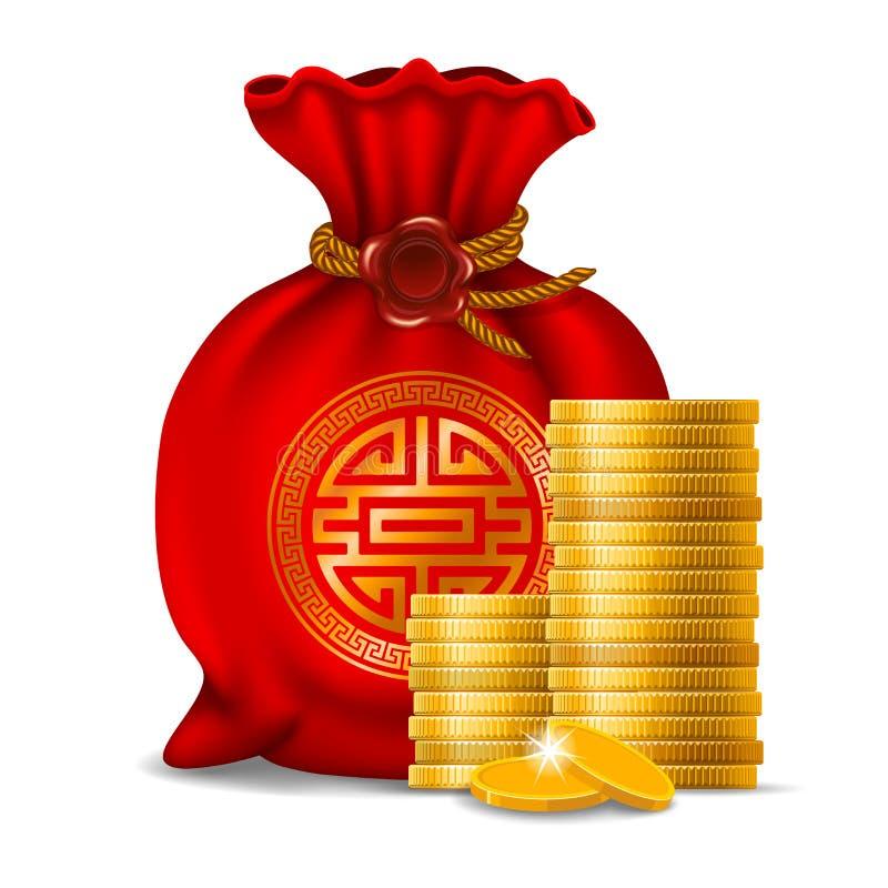 Año Nuevo chino stock de ilustración