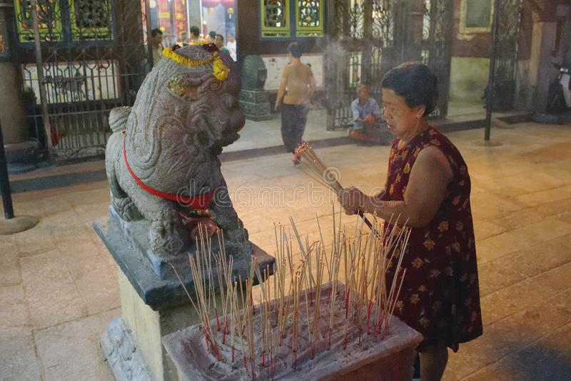 Año Nuevo chino de Malasia Penang Georgetown imagen de archivo