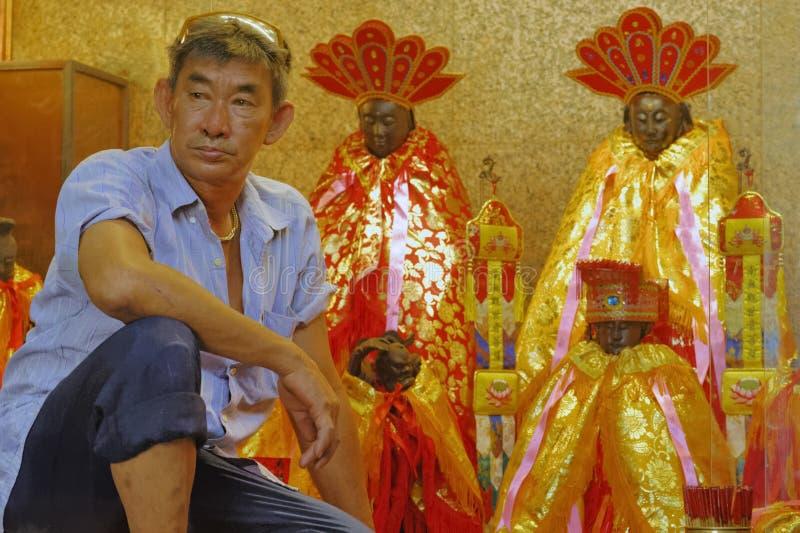 Año Nuevo chino de Malasia Penang Georgetown foto de archivo